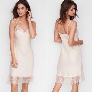 Victoria's Secret Satin / Chantilly Lace Slip NWT